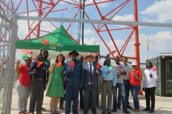 GOtv LAUNCHES IN THE KAVANGO REGION: RUNDU TOWN IS BEING PAINTED RED, GREEN AND YELLOW!